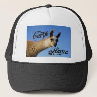 Carpe Llama Trucker Hat