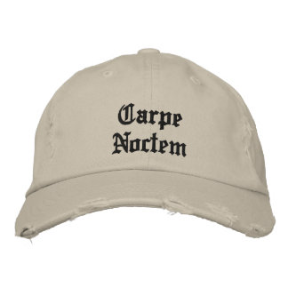 Carpe Noctem Hat