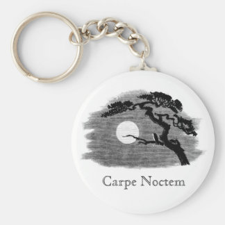 Carpe Noctem Keychain