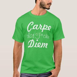 Carpe that F*kin Diem Tee for Men (Colored)