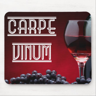 Carpe Vinum Mouse Pad