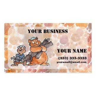 Carpenter Buisiness Card Business Cards