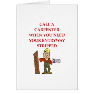 CARPENTER CARD