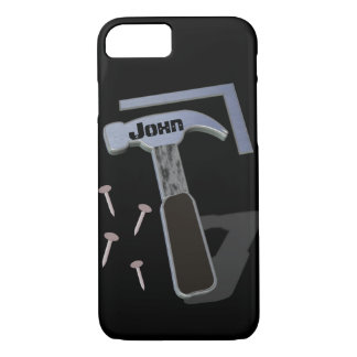 Carpenter | Construction | Personalized iPhone 8/7 Case