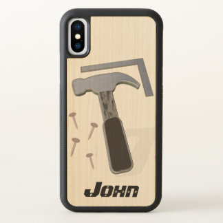 Carpenter | Construction | Personalized iPhone X Case