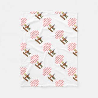 CARPENTER FLEECE BLANKET