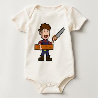 Carpenter Joiner Cabinetmaker Craftsman Worker Baby Bodysuit