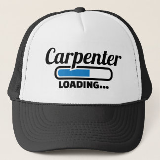 Carpenter loading trucker hat