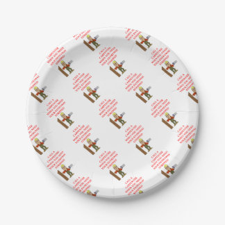 CARPENTER PAPER PLATE