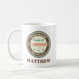 Carpenter Personalized Office Mug Gift