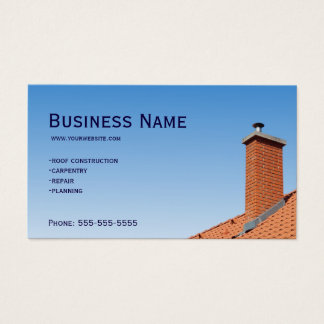 Carpenter roof business card