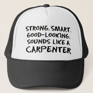 Carpenter sound trucker hat