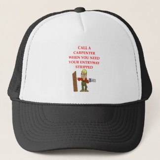 CARPENTER TRUCKER HAT