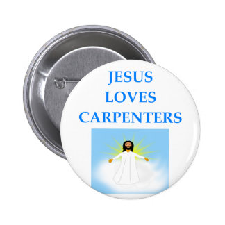 CARPENTERS 2 INCH ROUND BUTTON