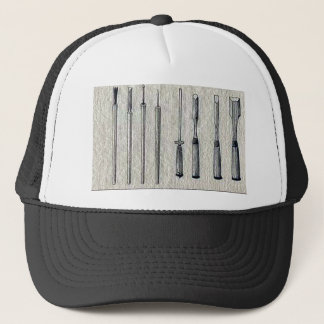 Carpenter's chisels Ukiyo-e. Trucker Hat