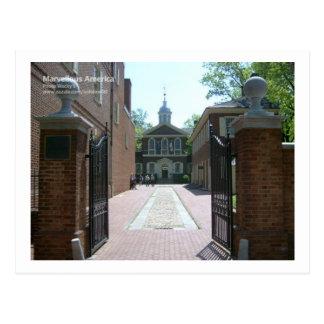 Carpenters Hall, Philadelphia Postcard