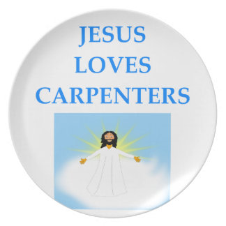 CARPENTERS PARTY PLATE