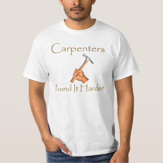 Carpenters Pound It Harder Shirt