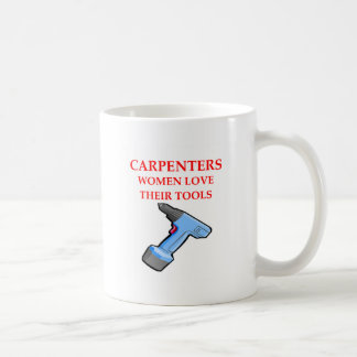 carpentrer coffee mug