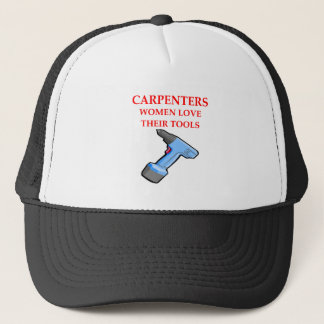 carpentrer trucker hat