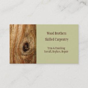 Lumber Business Cards Profile Cards Zazzle CA - Carpenter business card template
