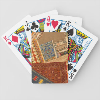 Carpet Collage Close Up Bicycle Playing Cards