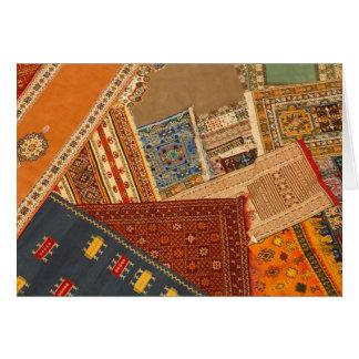 Carpet Collage Close Up Card
