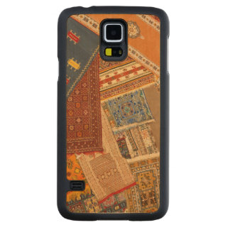 Carpet Collage Close Up Carved Maple Galaxy S5 Case