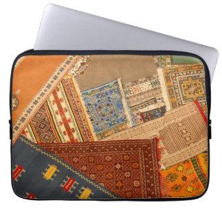 Carpet Collage Close Up Laptop Sleeve