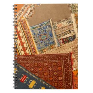 Carpet Collage Close Up Notebook