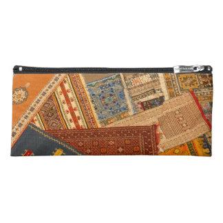 Carpet Collage Close Up Pencil Case