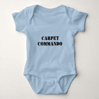CARPET, COMMANDO BABY BODYSUIT