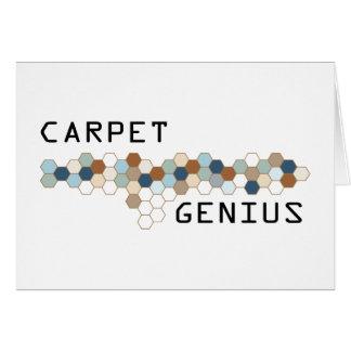 Carpet Genius Card