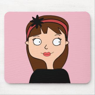 Carpet Miss Emilie Mouse Pad