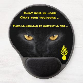 Carpet mouse for black cat gel mouse pad