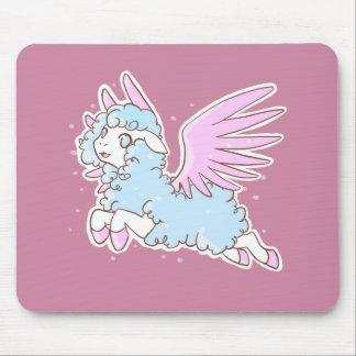 Carpet mouse mousepad kawaii fantasy sheep pink