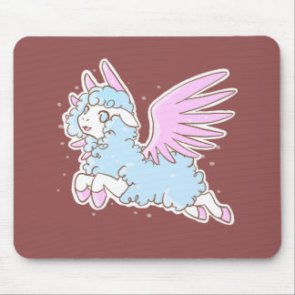 Carpet mouse mousepad kawaii fantasy winged sheep
