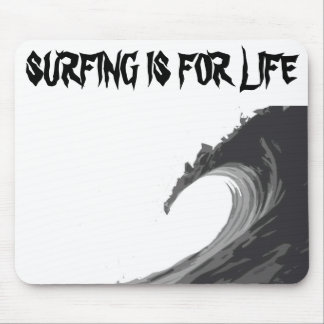 CARPET MOUSE SURFING LIFE MOUSE PAD
