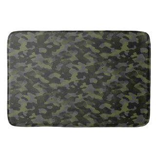 Carpet of bath Green Camouflage Bath Mat