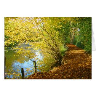 Carpet of Leaves Card
