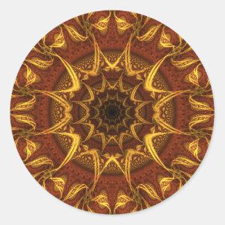 Carpet of the Sun Classic Round Sticker