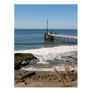 Carpinteria Pier Postcard