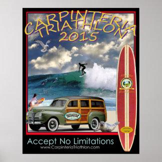 Carpinteria Triathlon 2015 Poster