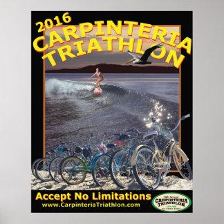 Carpinteria Triathlon Poster 2016