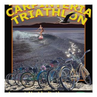 Carpinteria Trithlon poster 2016