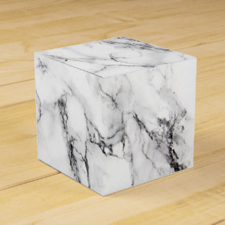 Carrara Marble Favor Box