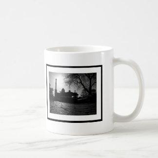 Carré historique de Woodstock (tasse) Mug Blanc