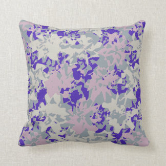 Carreau contemporain abstrait d'accent coussin