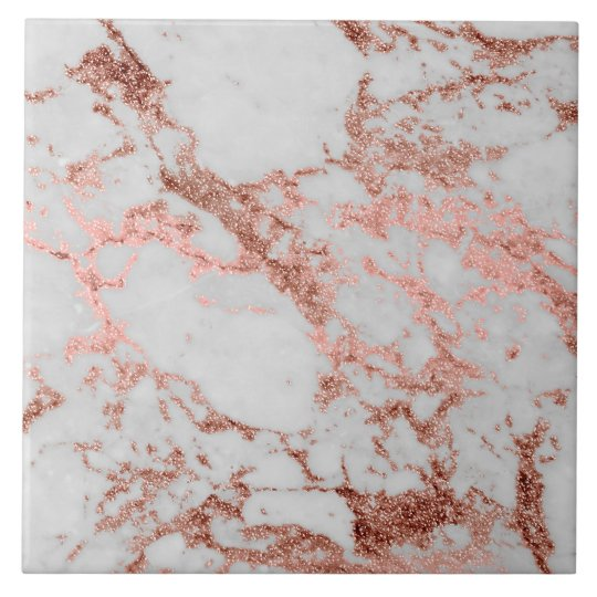 Carreau Image Rose De Texture De Marbre De Parties Zazzle Ca
