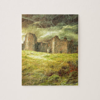 Carreg Cennen Castle .... Jigsaw Puzzle